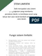 Fungsi Sistem Limfatik