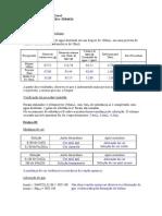 Relatório 2 Química Geral