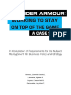 under armour external analysis Under armour case study analysis, company profile, history, internal & external assessment, product positioning map, organizational structure, value chain analysis, ife/efe matrix, bcg matrix, swot by pparacuelles in types school work, history, and swot analysis.