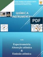 Espectrometria de Absorção Atômica e Emissão Atômica