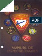 Manual de Especialidade 2013