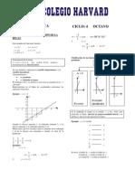 CICLO 4 OCTAVO_funcion Lineal y Ecuacion de La Recta 1