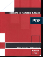 Roy Deleuze Teachers in Nomadic Spaces