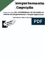 e2c6db34930d7 Sobre Comportamento e Cognição (Vol. 1)