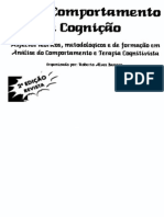 Sobre Comportamento e Cognição (Vol. 1)