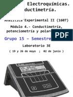 Conductímetro - Accesorios