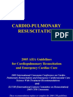 Lecture 1 Cardio-pulmonary Resusictation(some editions)