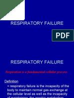 Lecture 2 Respiratory Failure