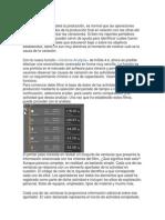 COMPRENSIÓN DE LAS CAUSAS DE LAS DIFERENCIAS ENTRE LA PRODUCCIÓN PLANIFICADA Y LA PRODUCCIÓN REAL