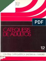 ALBERICH, E. y BINZ A. - Catequesis de Adultos. Elementos de metodología - CCS, 1991