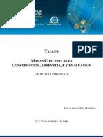 Taller Mapas Conceptuales (construcción, aprendizaje y evaluación)