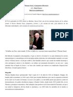 Thomas Szasz El Psiquiatra Libertario