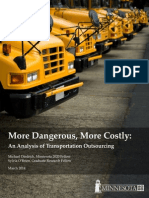 More Dangerous, More Costly