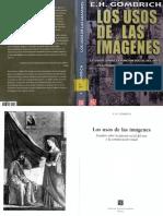GOMBRICH,  E. H., Los usos de las imágenes
