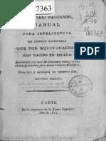 Diccionario Razonado Manual