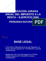 Material Impuesto a la Renta PPNN 2005.ppt