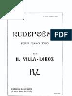 Rudepoema by Villa-Lobos