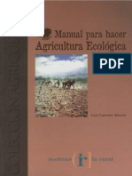 Manual Para Hacer Agricultura Ecologica