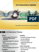 ANSYS 15.0 Geometry Update