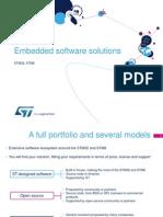Stm32-Stm8 Embedded Software Solutions