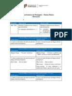 Metas Curriculares de Português - Ensino Básico - Alterações