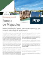 Introducción Catálogo | Mapaplus 2014 - 2015
