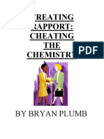 Bryan Plumb - Creating Rapport Cheating the Chemistry