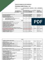 Program Activitati Fram 2014