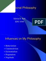 Educational Philosophy EDB 5-16-08