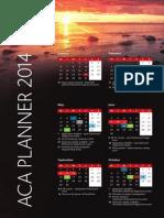 Aca Planner 2014 a4