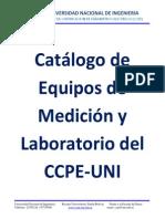 Catalogo de Equipos de Medicion y Laboratorio Del CCPE-UNI