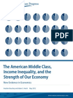 American Middle Class Income Inequality