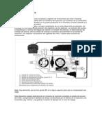 Variación del avance hidraulico