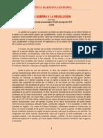 Lenin - La Guerra y la Revolución - Extracto (1917)