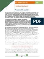 SPW Power of Gayathri