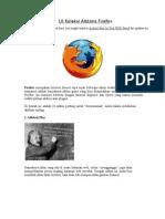 10 Koleksi Addons Firefox