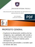 Org. Programa Sec 2011