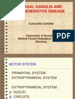 Basal Ganglia & Degenerative Disorders