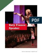 Katy Franco - Speaker