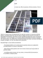 Tutorial Como Hacer Panel Solar