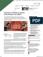 Anuncia La UNAM Su Primer Gran Remate de Libros - Aristegui Noticias