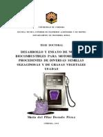 Biocombustibles Para Motores Diesel