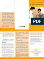 Folder Plano Nacional