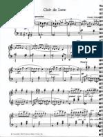 Claire de Lune - Debussy-Easy