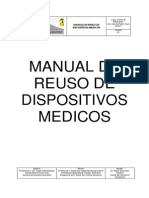 Manual de Uso y Reuso Rev Por Odont y Laborat