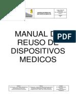 Manual de Uso y Reuso Rev Por Odont y Laborat