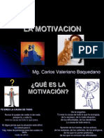Que Es La Motivacion Carlos Valeriano