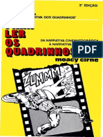 MOACY CIRNE - PARA LER OS QUADRINHOS - DA NARRATIVA CINEMATOGRÁFICA À NARRATIVA QUADRINIZADA