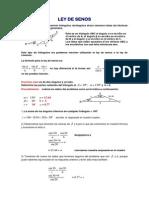 Ley de Senos y Cosenos Probblemas (1)