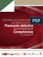 CURSO BÁSICO PLANEACIÓN DIDÁCTICA
